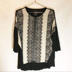 by Chico's size 0 small tunic blouse